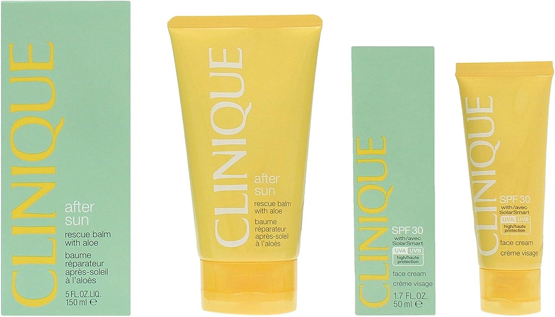 Clinique Set Crema Facial + Bálsamo Crema After Sun - 1 Pack: Amazon.es: Belleza