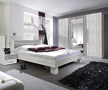Dreams4home Schlafzimmer Set Artica I Set Kleiderschrank