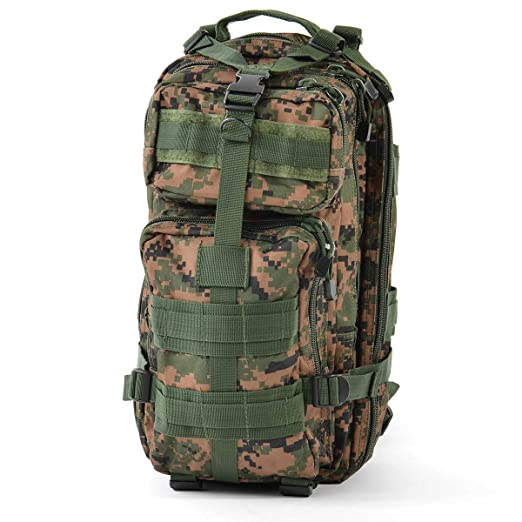 Amazon.com   Army Universe Woodland Digital Camouflage MARPAT Military  Medium Transport Pack   Tactical Backpacks   Clothing 6d2d18ca498
