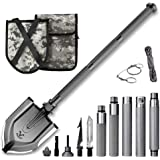 Zune Lotoo Folding Shovel(Annihilate F-A1),Survival Gear for Camping,Hiking,Fishing,Gardening,Car Emergency,Outdoor…
