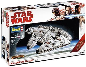 Revell Maqueta de, Star Wars 1: 144 – Millennium Falcon, Niveles 5, orgin Algas fidelidad imitación con Muchos Detalles – 06880