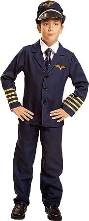 My Other Me Me-200906 azafatas Disfraz de piloto para niño, 7-9 ...