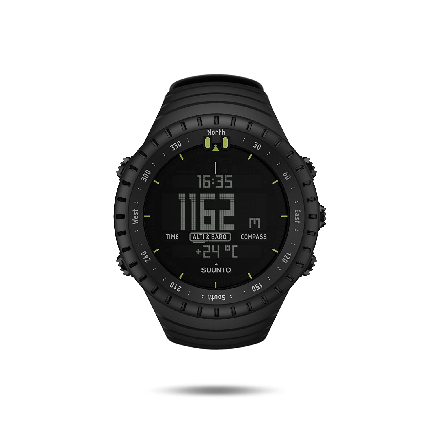 amazon com suunto core all black military men s outdoor sports