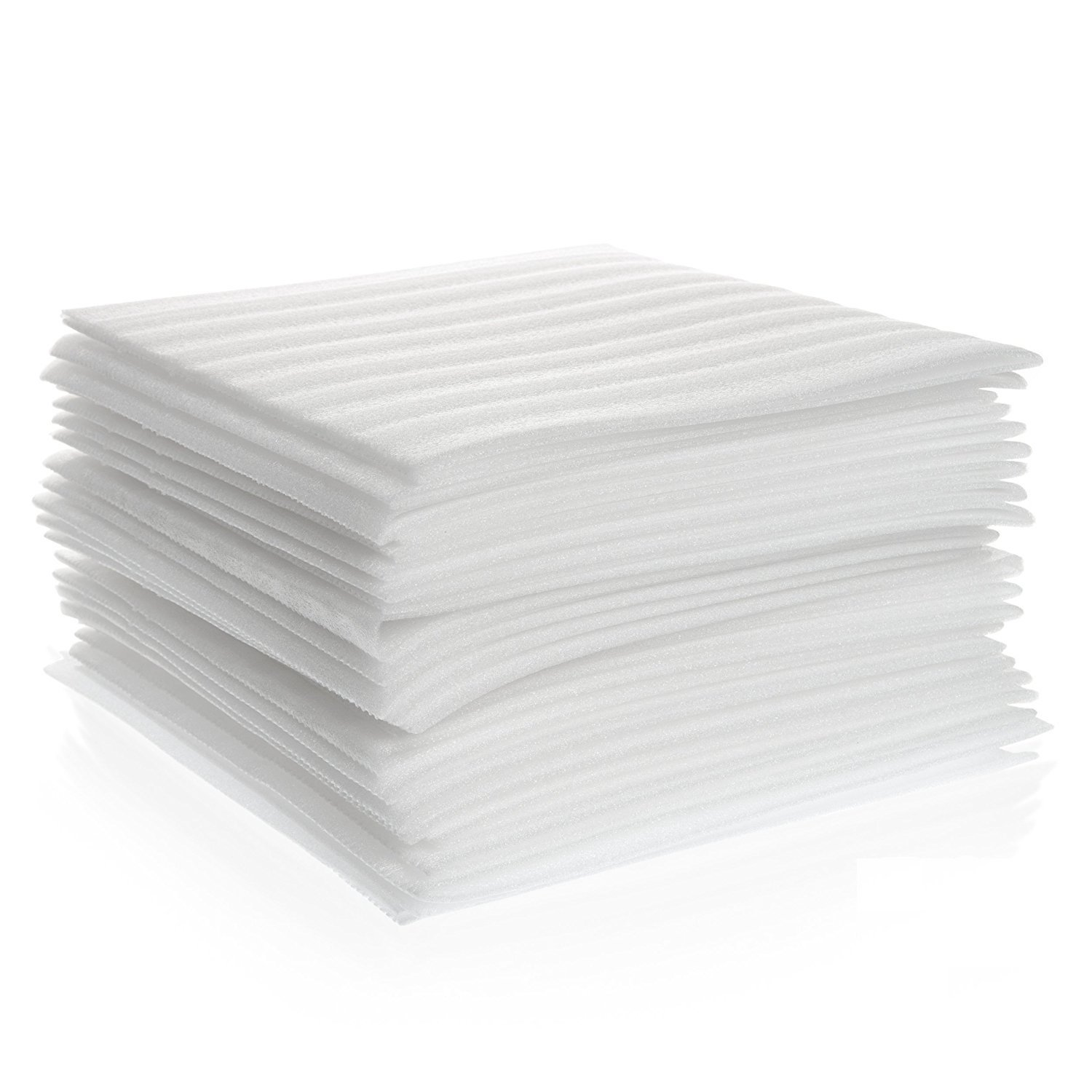 Pulse Vinyl Cushion Foam Sheets 12 X 12 250 Pack China for Wrapping Dishes Furniture Packing Supplies for Moving and Protection