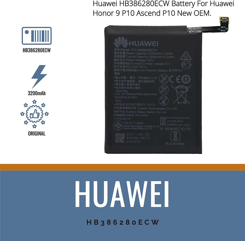 Huawei Original Batería P10 Honor 9 Batería de Repuesto Funda ...
