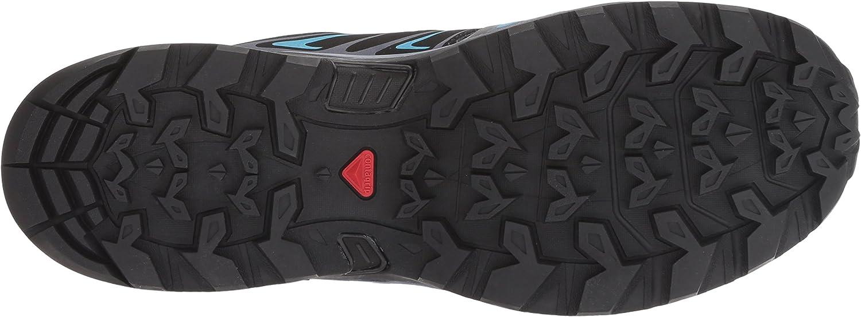 SALOMON X Ultra 3 GTX W, Zapatillas de Deporte para Mujer Multicolor Medieval Blue Black Hawaiian Surf 000