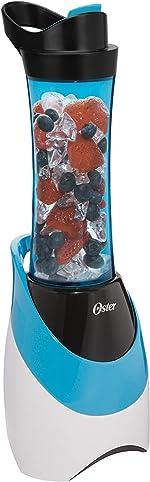 Oster BLSTPB-WBL My Blend 250-Watt Blender with Travel Sport Bottle, Light