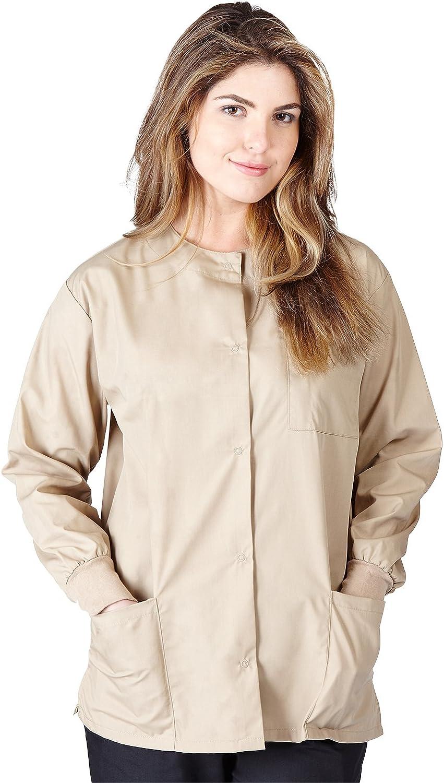 Natural Uniforms Womens Workwear Warm Up Jacket