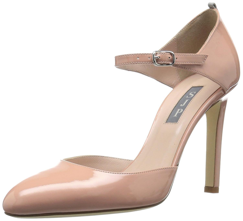 TALLA 40.5 EU. SJP by Sarah Jessica Parker Campbell, Zapatos con Tacon y Correa de Tobillo para Mujer