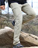 MIER Men's Lightweight Hiking Pants Outdoor Cargo