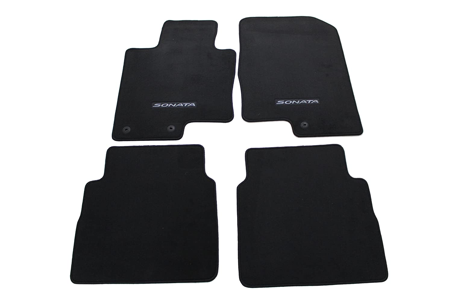 Floor mats cheap - Amazon Com Genuine Hyundai Accessories 3qf14 Ac200ry Black Front And Rear Carpet Floor Mat For Hyundai Sonata Hyundai Sonata Hybrid Automotive