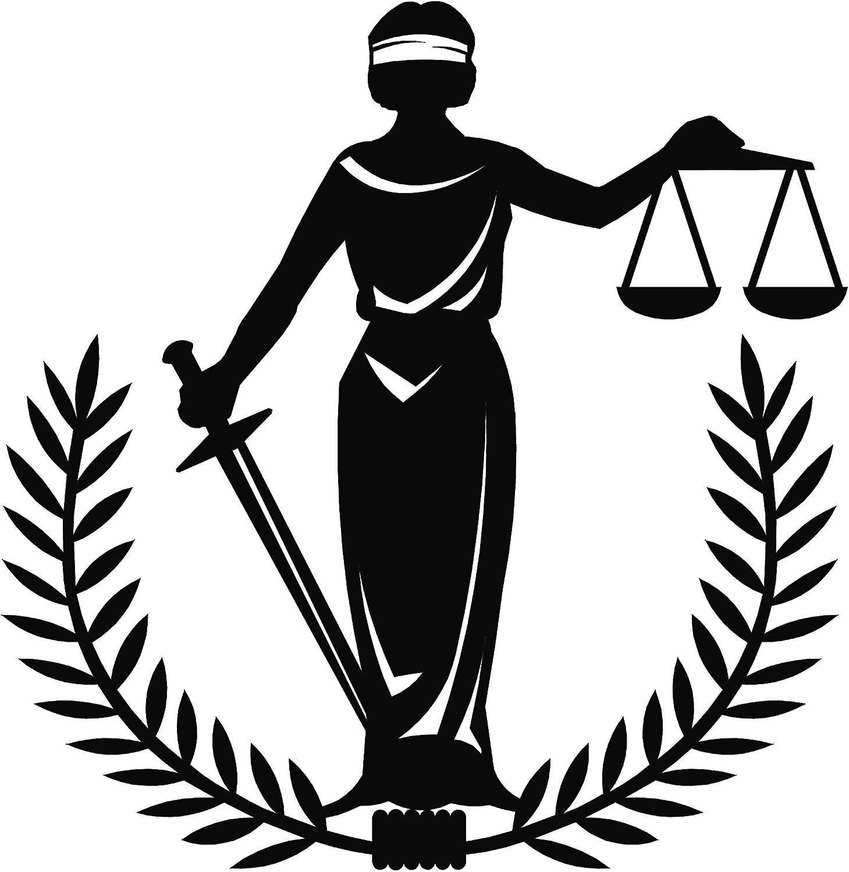 Themis Goddess of Justice Clip Art