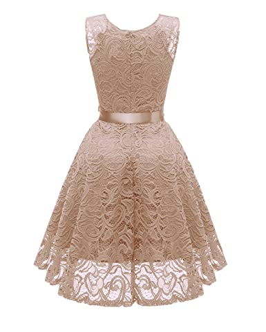 Ouxiuli Womens Vintage Retro Ball Gown 1940s Flared Dress Swing Skaters: Amazon.co.uk: Clothing