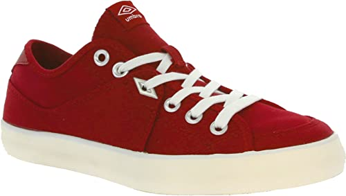 umbro red shoes