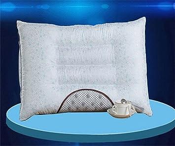 GXSCE Masaje cuello almohada, almohada cuello de espuma de memoria, anti-alérgica y a