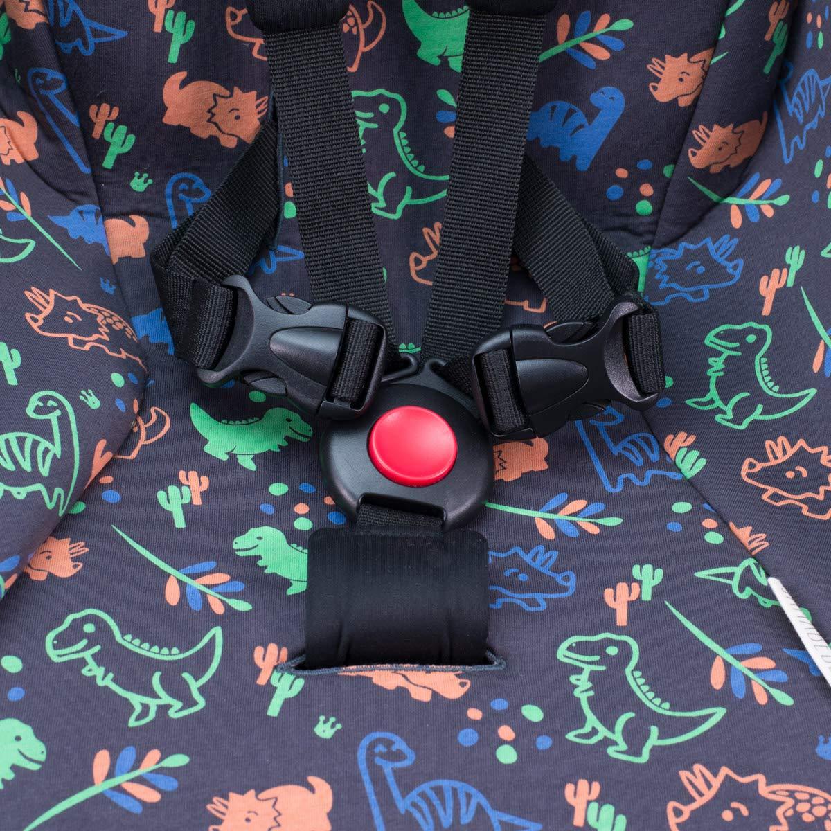Dino Party JANABEBE Sitzauflage f/ür Babyzen Yoyo