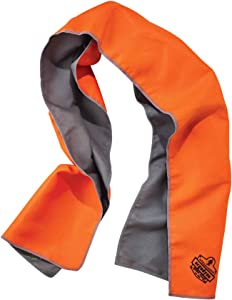 Ergodyne Chill Its 6602MF Cooling Towel, Soft Microfiber Material, UPF 50+