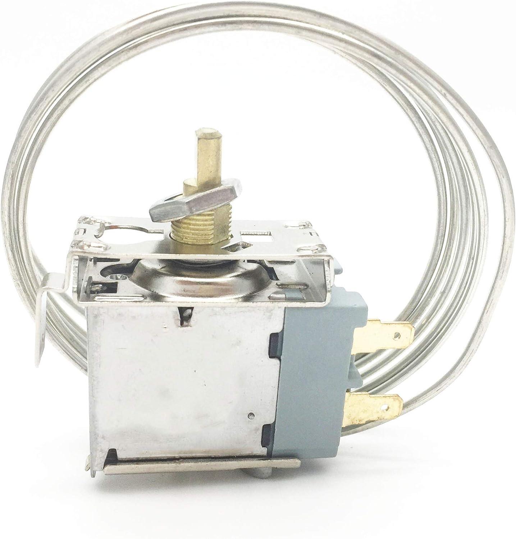 COMOK WDF-20L Freezer Refrigerator Temp Switch Temperature Controller AC 250V 6A 3 Pin with Cord