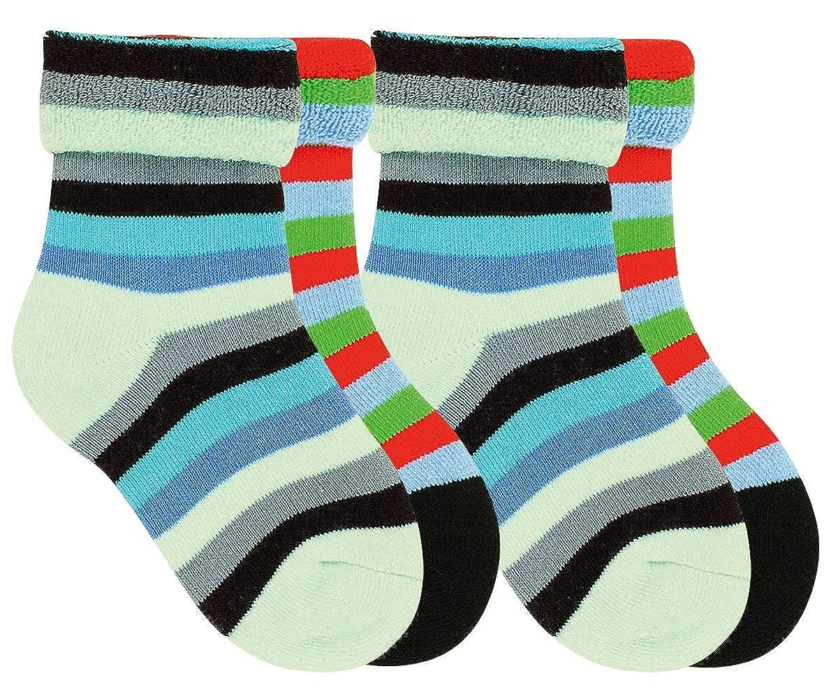 interior de rizo 4 o 6 pares calcetines para mujer Calcetines t/érmicos para mujer calcetines multicolor sockenkauf24 12790 2