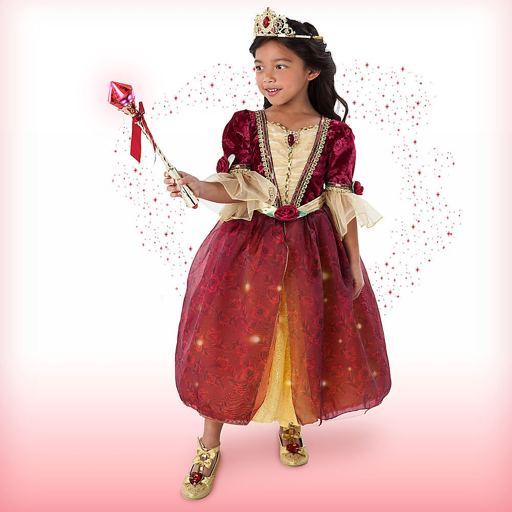 Amazon Disney Belle Interactive Deluxe Costume Set Kids 7 8 Toys Games