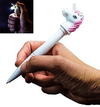 Unicorn pen torch gift for her girl girlfriend women teen unicorn pen torch gift for her girl girlfriend women teen negle Images