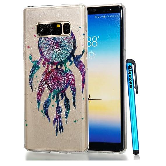 online retailer 24d02 ae99e Amazon.com: Galaxy S7 Case, Qiyuxow Soft CLEAR Case Bright Glitter ...