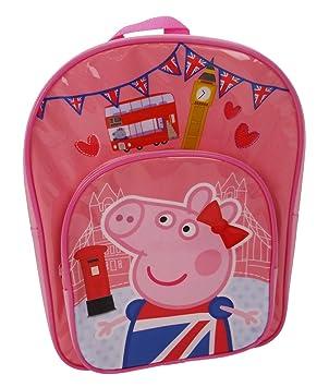 Peppa Pig Mochila Infantil, Rosa (Rosa) - PEPPA001421: Amazon.es: Equipaje