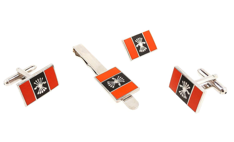 Pack Completo Bandera con Emblema Falange: Amazon.es: Joyería