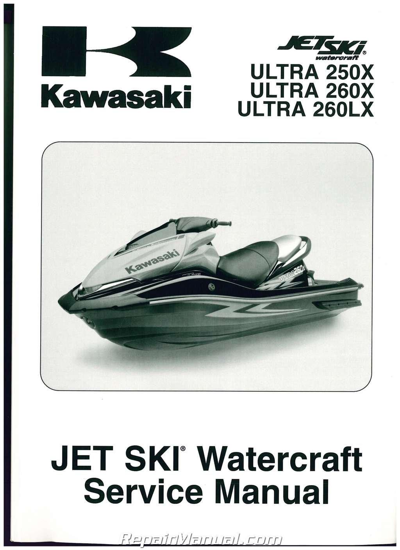 99924-1377-03 2007-2009 Kawasaki JT1500B Jet Ski Ultra 250 260X LX Service  Manual: Manufacturer: Amazon.com: Books