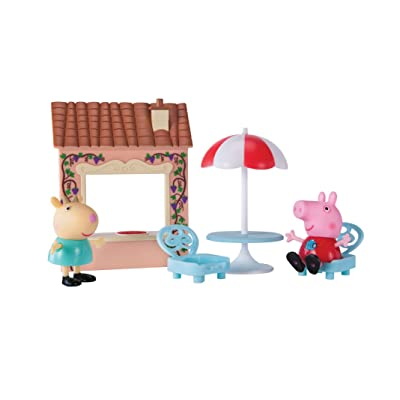 Peppa Pig Pizza Party Playtime Set: Toys & Games