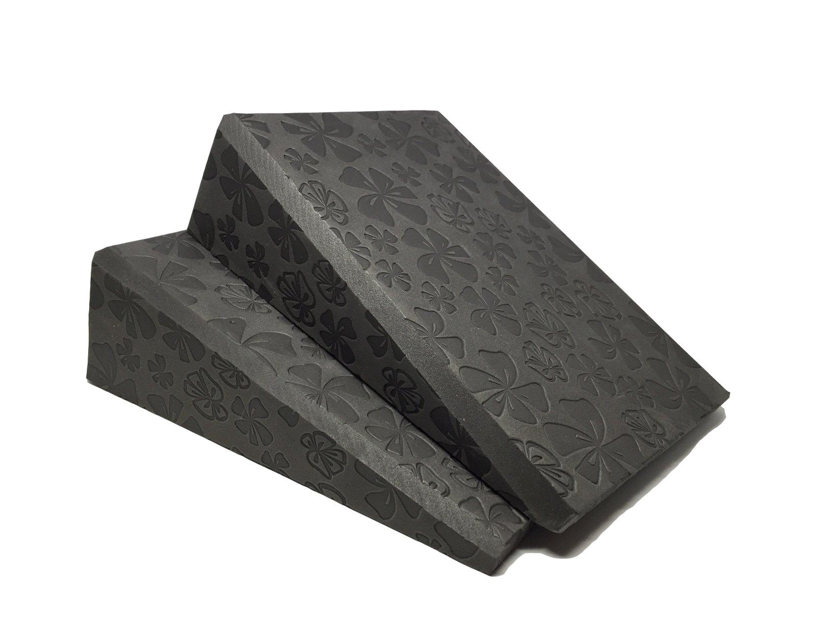 Comfortable Dense Foam Incline Compact Stretch Wedge - Calf, Wrist - 14.5 Deg