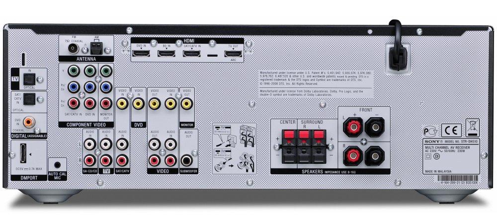 Sony Str Dh510 Инструкция