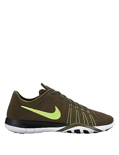 e82324d1608e7 Nike Women s Free Tr 6 Khaki Trainings Shoes Green in Size ...