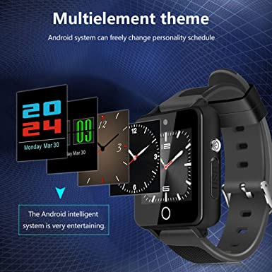 Amazon.com: Bluetooth Smart Pocket Watch-Star_wuvi Smart Sports Watch,1.54