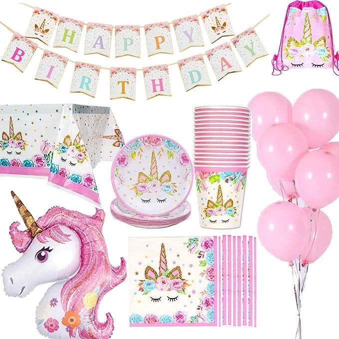 Kit fiesta de Unicornio