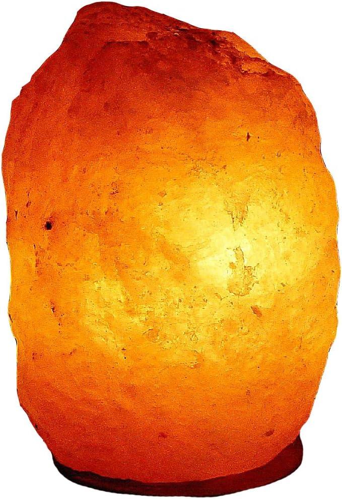 Salz Lampe von 2 kg bis 26 kg frei w/ählbar Kristall Lampen s/üdlich vom Himalaya mit Spezial Leuchtmittel 6-8 kg