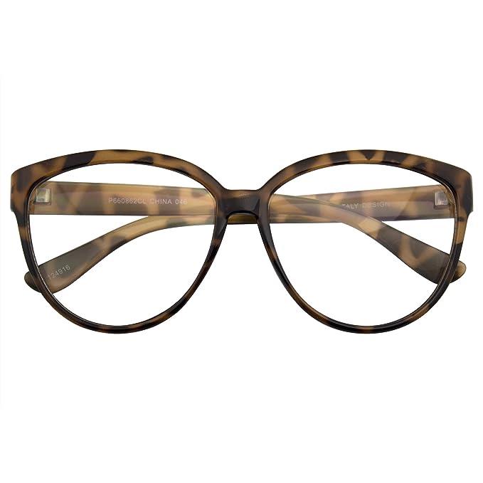Emblem Eyewear - Las Mujeres De Gran Tamaño Retro Nerd Clara ...