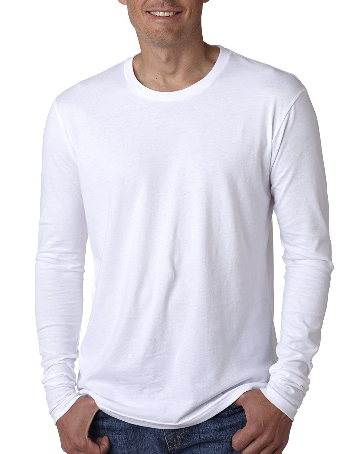 Next Level - Premium Long Sleeve Crew - 3601 | Amazon.com