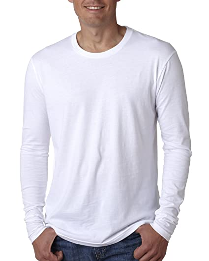 Next Level Mens Premium Fitted Long Sleeve Crew-3601  93ac2e86f4cc7