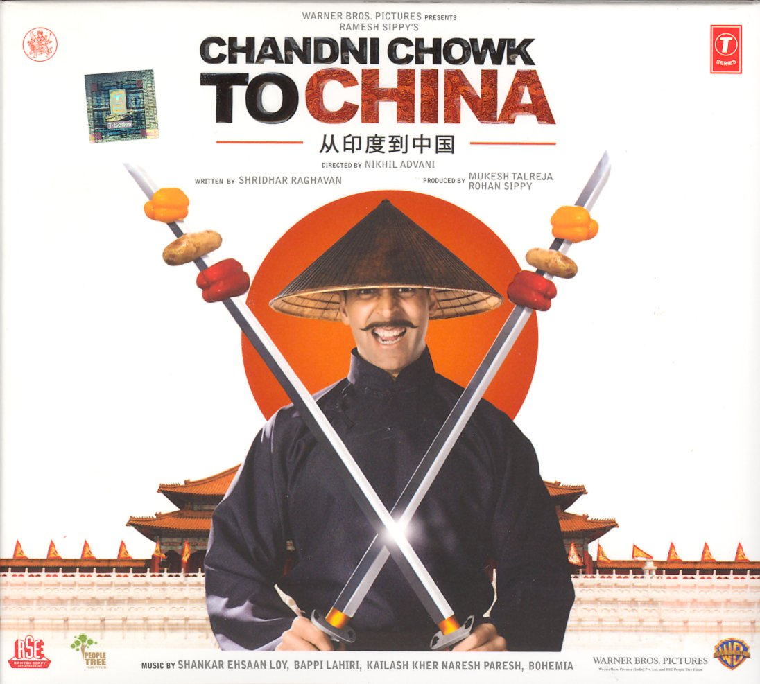 Chandni Chowk To China - Cd (2008)(Hindi Music/ Bollywood Songs / Film Soundtrack / Akshay Kumar/ Deepika Padukone/ Various Singers/ Shankar;Ehsaan;Loy)