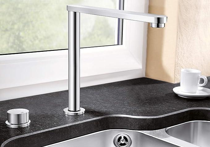 Blanco 516672 Grifo de baño, plata: Amazon.es: Hogar