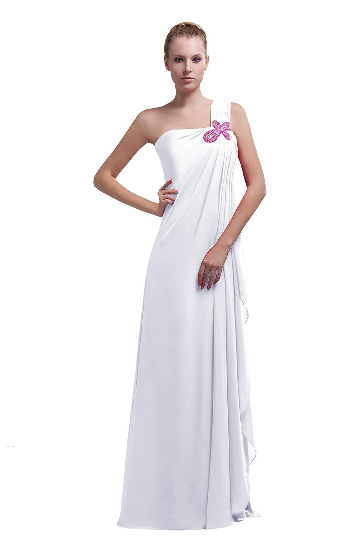 Dresstells Chic Damen Kleid Bodenlang Chiffon Abendkleid ...