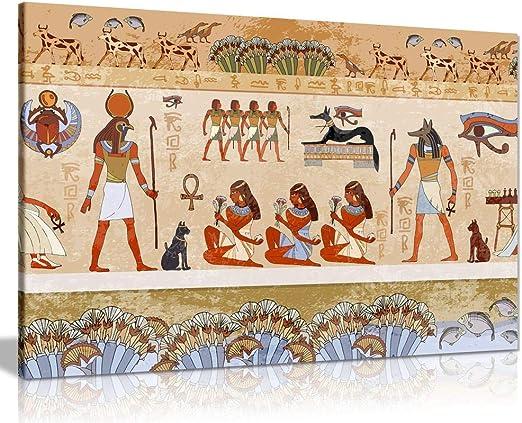 Egyptian Tutankhamun Egypt Pharaoh Photo Poster Print Wall Art Size A4 Gift