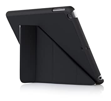 Luxe Pipetto Origami - Funda para Apple iPad Air 2 (soporte de sobremesa), color negro