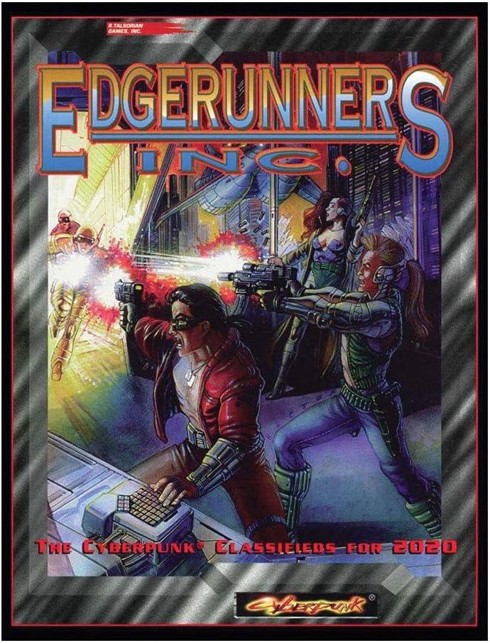 R. Talsorian Games Cyberpunk 2020 RPG: Edgerunners, Inc.