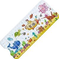 Alfombrilla Antideslizante Bañera, Alfombrilla de Baño Alfombra Bañera Antideslizante para Niños con Ventosas…