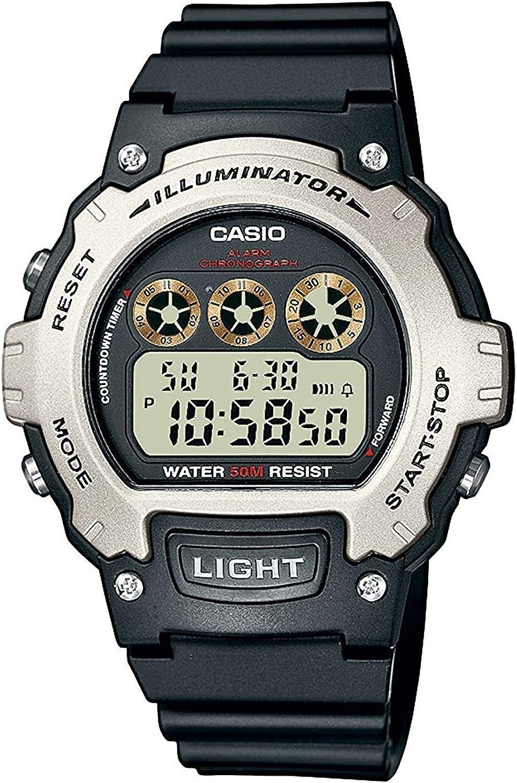 Casio Reloj de Pulsera W-214H-1A