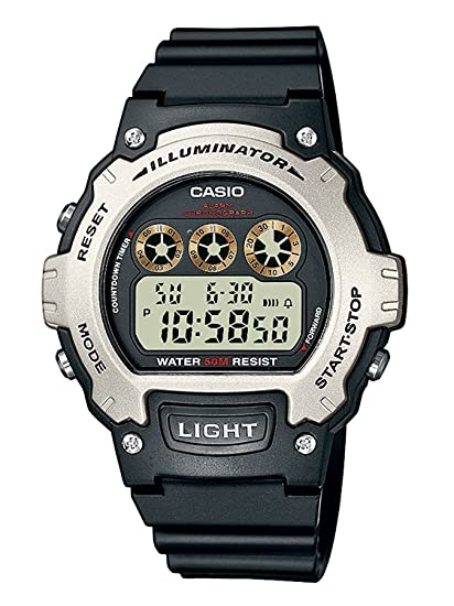 d1a3dcabca76 Casio Reloj de Pulsera W-214H-1A  Casio Collection  Amazon.es  Relojes