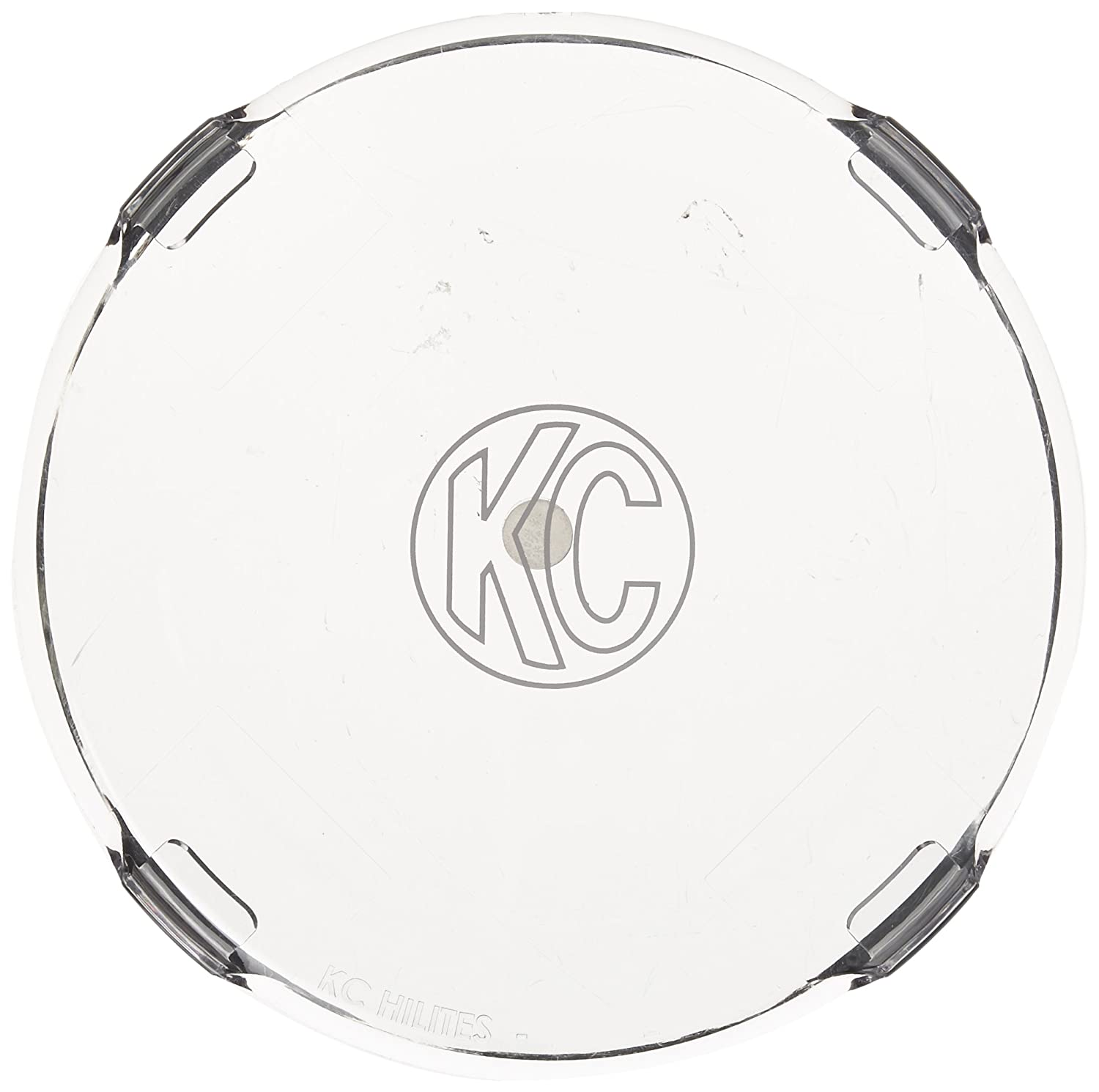 KC HiLiTES 7207 6 Clear Acrylic Light Cover Set of 2