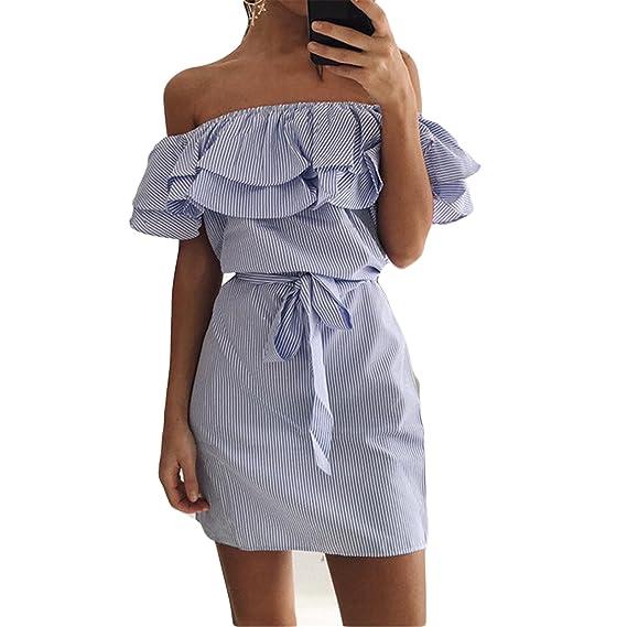 La mode des femmes à volants frange Word Slim Slim robe jupe avec ceinture  (S c7d7c615065